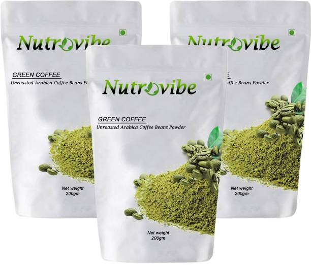 Nutrovibe Green Coffee Powder for Weight Loss/Fat Burner Instant Coffee