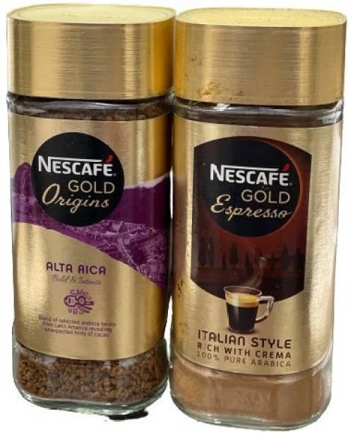 Nescafe GOLD COMBO OF ALTA RICA & ESPRESSO Instant Coffee