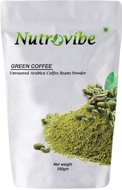 Nutrovibe Green Coffee Beans Powder for Weight Loss Management Instant Coffee