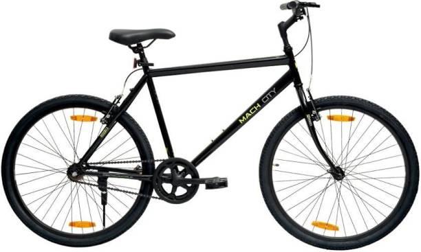"Mach City I Bike 26"" Black Large 26 T Mountain Cycle"