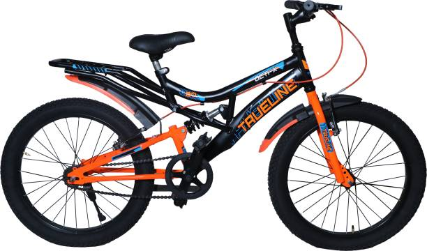 TRUELINE Octi-X 20T Brutt Handle Alloy Clutch Suspension(34mm) Fork Double Wall Rim 20 T BMX Cycle