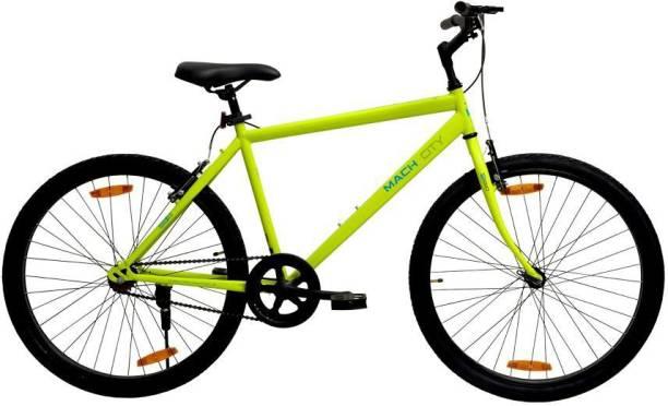 "Mach City I Bike 26"" Neon Green 26 T Mountain Cycle"