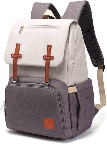 R for Rabbit Caramello Smart Back Pack Diaper Bags - Waterproof Mother Bag (Beige Brown) Diaper Bag