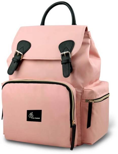 R for Rabbit Caramello Bliss Back Pack Diaper Bags - Waterproof Mother Bag (Pink) Diaper Bag