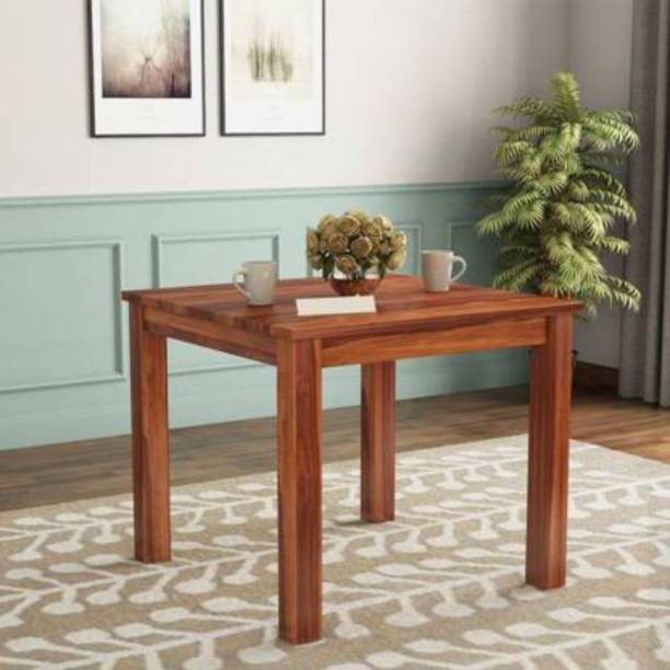 Credenza Solid Wood 4 Seater Dining Table