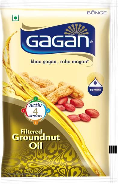 Gagan Groundnut Oil Pouch