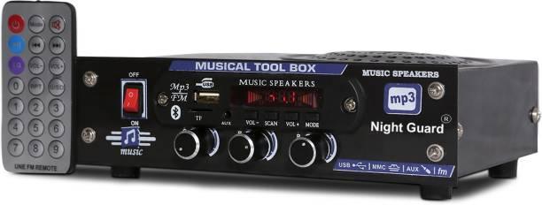 Night Guard NG Stockist AC/DC FM Radio , multimedia Speaker with Bluetooth, USB, SD Card, Aux FM Radio