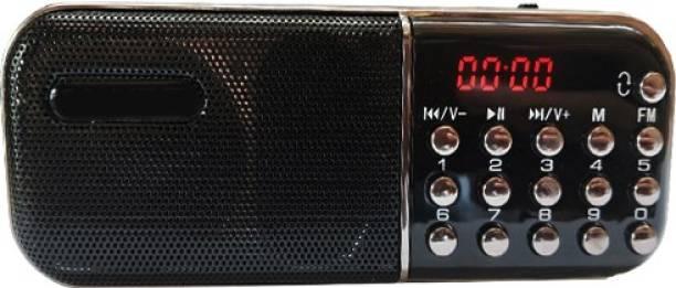 BeerTech L-SS55 Multimedia Music Speaker FM-Radio USB/SD Card Player FM Radio