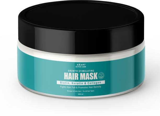 Azani Active Care Hair Mask for Growth Stimulating, Hydrating Hair Mask|Biotin, Keratin & Collagen