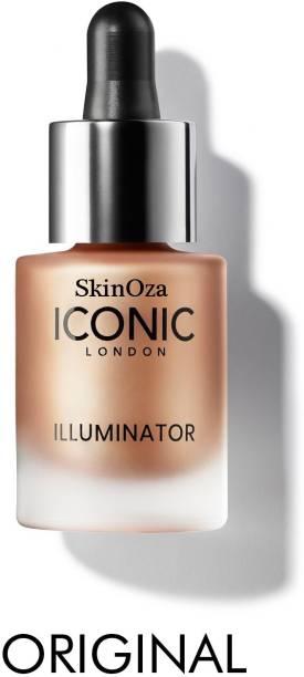 SkinOza ICONIC London Waterproof Illuminator Smooth Shine Liquid Highlighter 3D Glow shine  Highlighter
