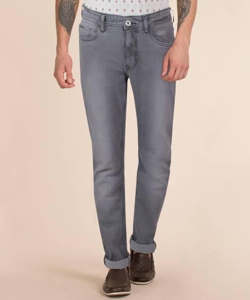 PROVOGUE Slim Men Grey Jeans