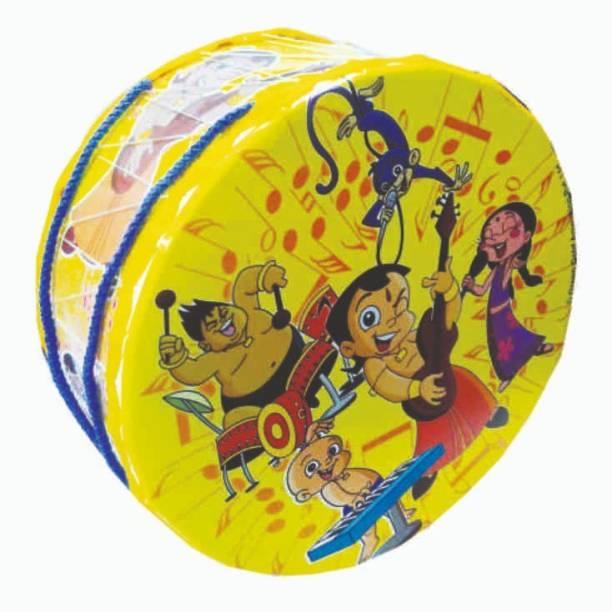 CHHOTA BHEEM Chhota Bheem Toy Drum Set Character Print Large