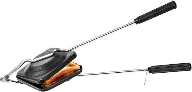 RBGIIT Toaster_black 03 Hard Anodised Nonstick Gas Toaster-875 Toast 200 W Pop Up Toaster
