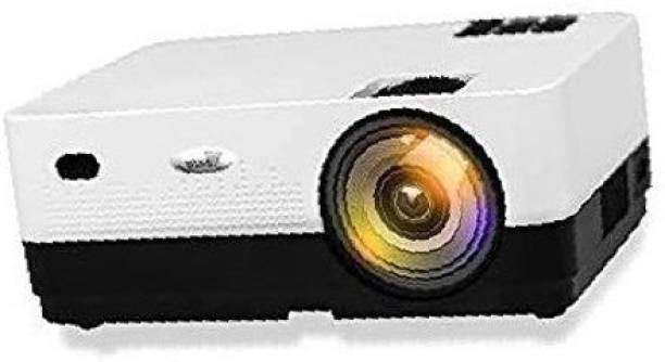 TONZO X Projector 4000 lumens LED Full Android version 8.0 1GB/8GB storage wifi, Bluetooth, Games Home Cinema Video Projector HD 1280x1080P Corded Portable Projector (Black/Silver) 3.81M/150-inch Display Full HD Projector 4000 lm LED Corded Portable Projector