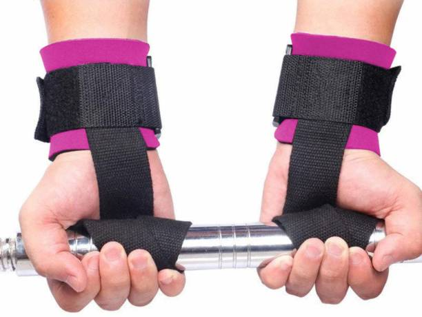 Joyfit Weight Lifting Straps- Neoprene Padding, Thick Wrist Support Wrist Support