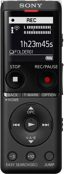 SONY ICD-UX570F Stereo Digital Voice Recorder with Built-In USB Voice Recorder 4 GB Voice Recorder