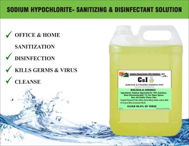 CSI 08 SODIUM HYPOCHLORITE SOLUTION (SANITIZING SPRAY) Cleaner 5ltr