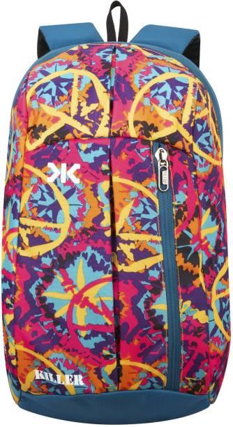 KILLER Jupiter Flower Small Outdoor Mini Backpack 12L Daypack 12 L Laptop Backpack