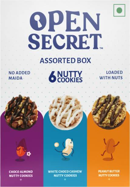 OPEN SECRET Assorted Nutty Cookies