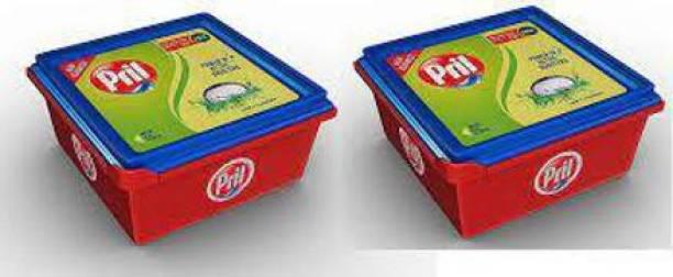 Pril Perfect Lime & Vinegar 500 Gm Twin Pack (1000 gm) Dishwash Bar