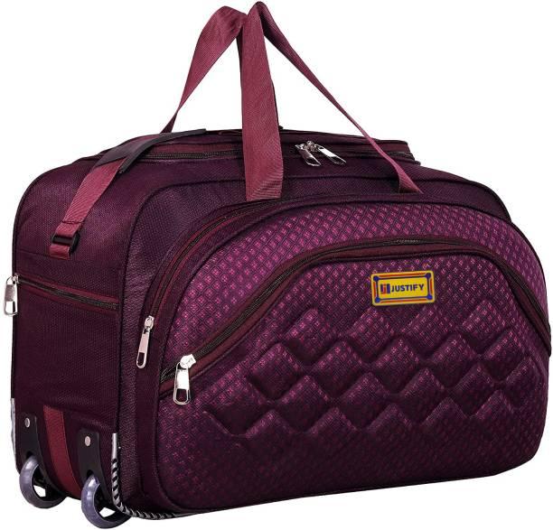 Justify 55 Liters Heavy Dutty Travel Luggage Bag Travel Duffel Bag