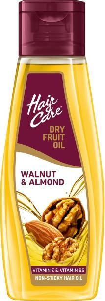 HAIR & CARE Dry Fruit Oil with Walnut & Almond, (Non-Sticky Hair Oil) Hair Oil