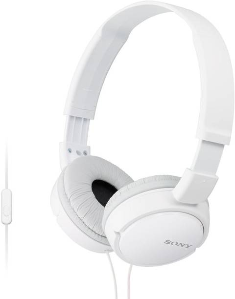 SONY MDR-ZX110APW Wired Headset