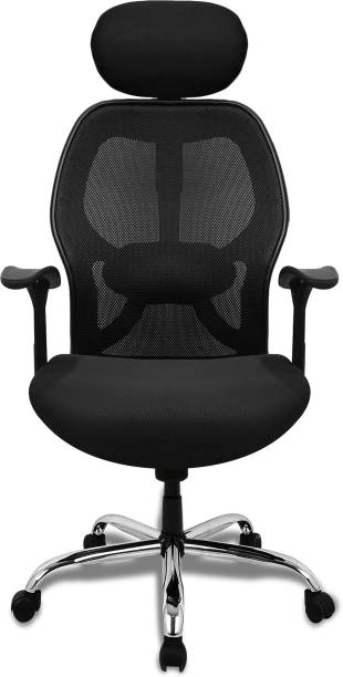 SAVYA HOME Apollo HBCB Fabric Office Arm Chair