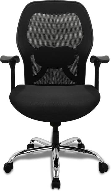 APEX Apollo medium back office chair Fabric Office Executive Chair