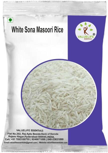 Valuelife White Sona Masoori Rice (4990g) Sona Masoori Rice (Unpolished)