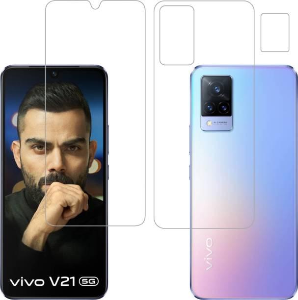 Vatsin Front and Back Screen Guard for ViVO V21 5G