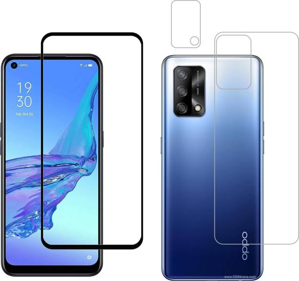 Vatsin Front and Back Tempered Glass for OPPO F19