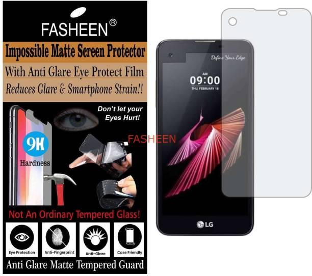 Fasheen Impossible Screen Guard for LG K500I (X SCREEN) (Flexible Matte)