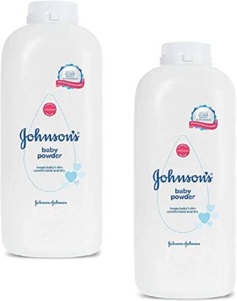 JOHNSON'S Baby Powder 400g*2Pcs WD
