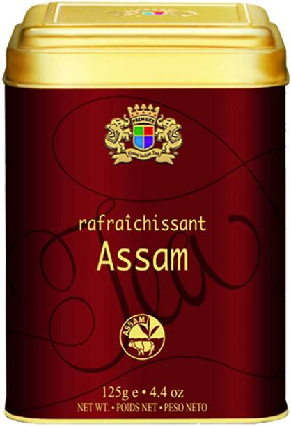 Premiers Assam Tea | 62 Cups | 125 Grams | PMS Loose Leaf Teas | PMS Black Tea Tin
