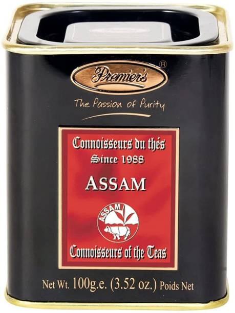 Premiers Assam Tea | 50 Cups | 100 Grams | PMSS Loose Leaf Teas Black Tea Tin