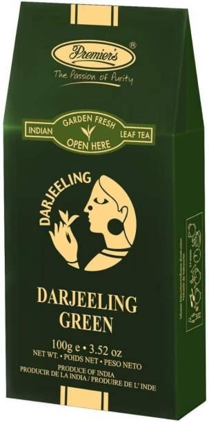 Premiers Darjeeling Green Tea | 50 Cups | 100 Grams | PB-2 Green Board Standy Pack Green Tea Pouch