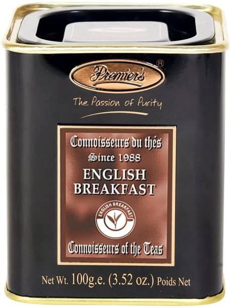 Premiers English Breakfast Tea | 50 Cups | 100 Grams | PMSS Loose Leaf Teas Black Tea Tin