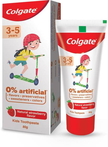 Colgate Kids (3-5 years), 0% Artificial Toothpaste
