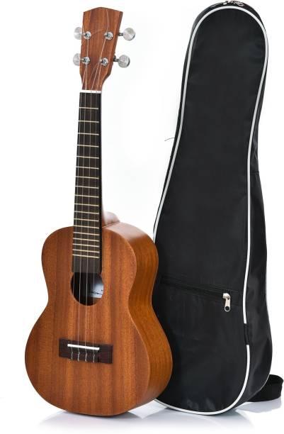Flipkart SmartBuy Ukulele UK 10 IN Sapele Wood   Rosewood Fretboard and Bridge    Concert Ukulele