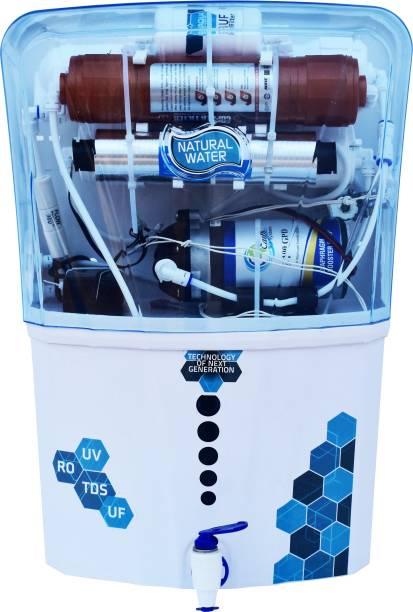 Aqua Model Copper Filter+ RO_UV_UF_TDS 12 L RO + UV + UF + TDS Water Purifier