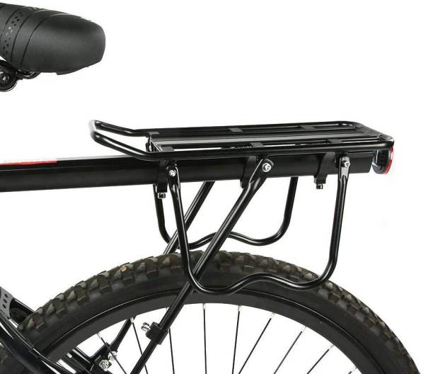 Xezon Bicycle New Generation Styles Upgraded Design High Secure Rear Luggage Carrier Aluminium, Steel  Bicycle Carrier