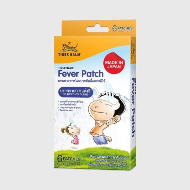 Tiger Balm FEVER PATCH Plaster & Patch