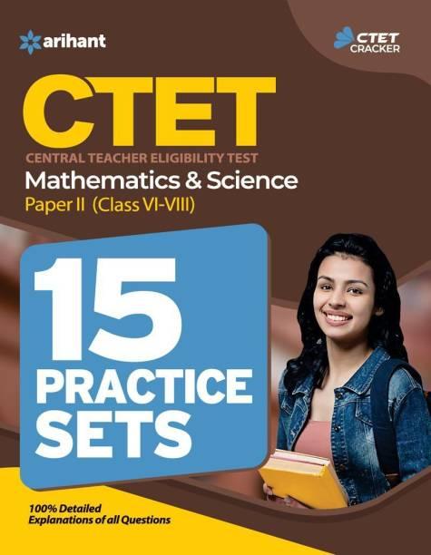CTET Mathematics & Science 15 Practice Sets - Central Teacher Eligibility Test