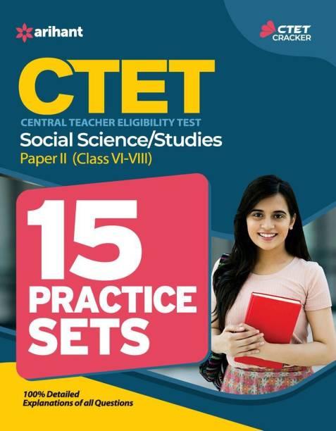 CTET Social Science/Studies 15 Practice Sets - Central Teacher Eligibility Test