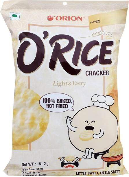 ORION O'Rice Light and Tasty Crackers