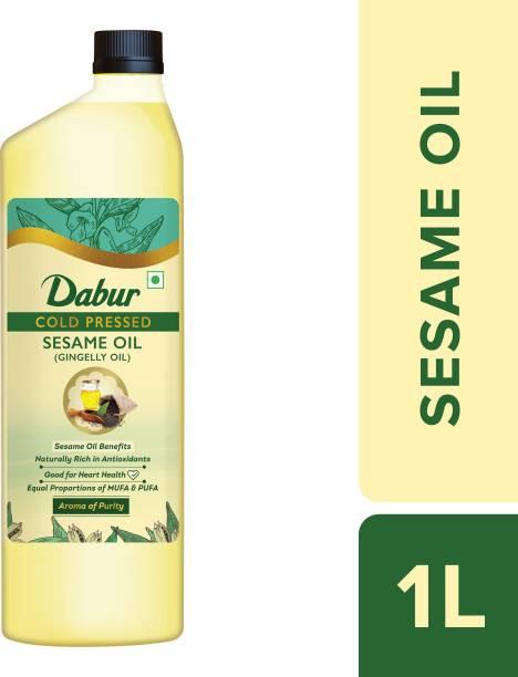 Dabur Cold Pressed Sesame Oil Plastic Bottle