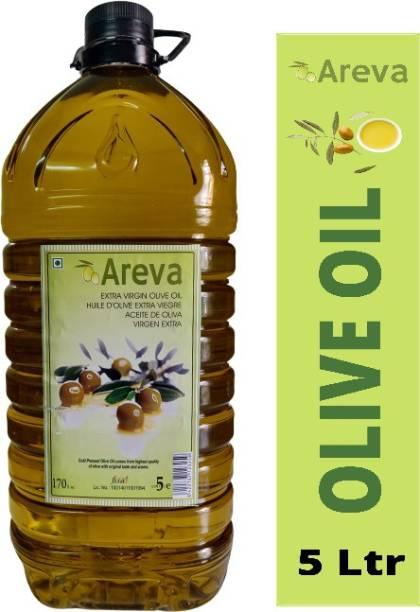 AREVA Extra Virgin Olive Oil 5 Ltr Olive Oil PET Bottle