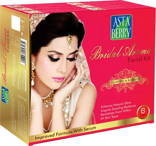ASTABERRY Bridal Aroma Facial Kit 12 Pouch Set 432g