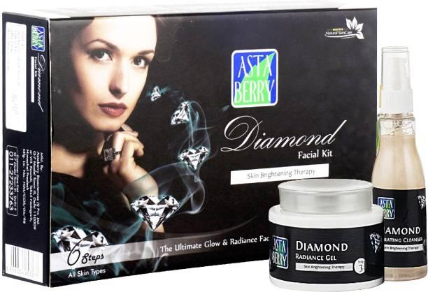 ASTABERRY Diamond Facial Kit 6 Steps 570ml